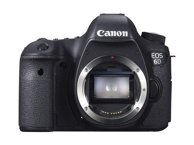 Canon EOS 6D 20.2 MP CMOS Digital SLR Camera